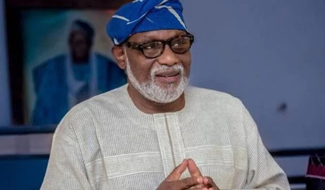 Akeredolu: It wasn't necessary to mention Tinubu in my victory speech
