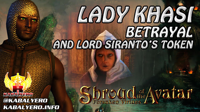 Shroud Of The Avatar Gameplay 2016 ★ Lady Khasi, Betrayal & Lord Siranto's Token