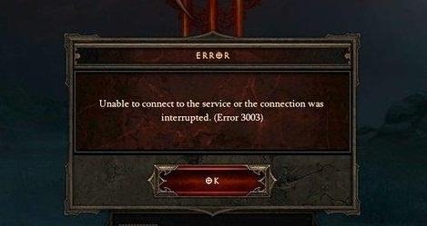 error 3007