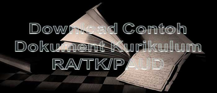 Download Contoh Dokumen Kurikulum RA, TK, PAUD
