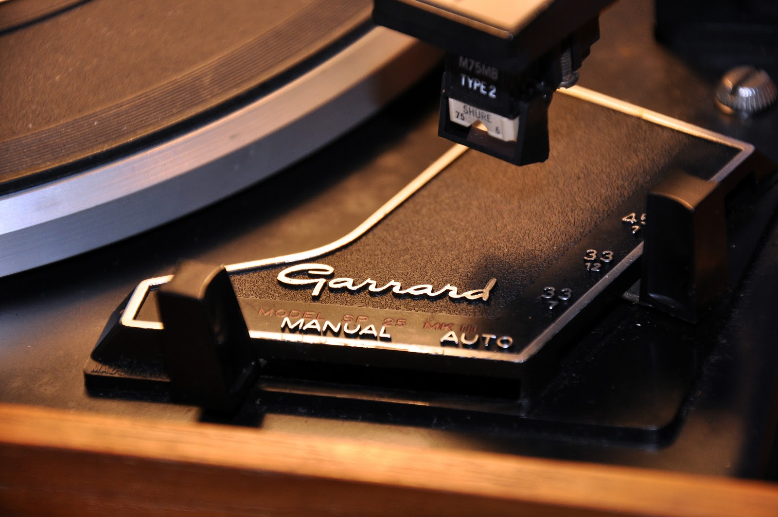 Cheshire Audio Blog: Garrard SP25 Mk3