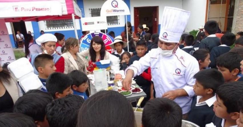 QALI WARMA: Padres de familia y escolares de Namora - Cajamarca, aprenden a cocinar rico y sano gracias a programa social - www.qaliwarma.gob.pe
