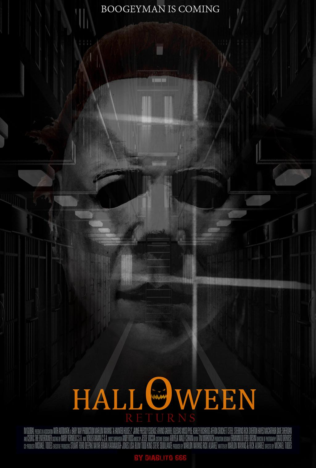 Halloween 2018 Fan Poster.Halloweenreturns On Jumpic Com
