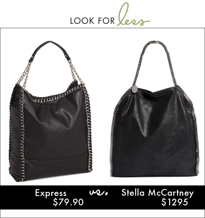 Stella McCartney, express, chain handbag, tote, hobo, handbag, express