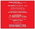 Bollywood Most Awaited movie 2019 Brahmastrs Budget:n.a Crore, Lear star Amitabh, Mouni, Ranbir, Alia