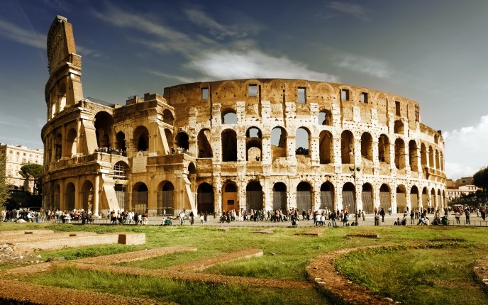 Know More About 7 Wonders of the World | Roman Colosseum Rome, Italy