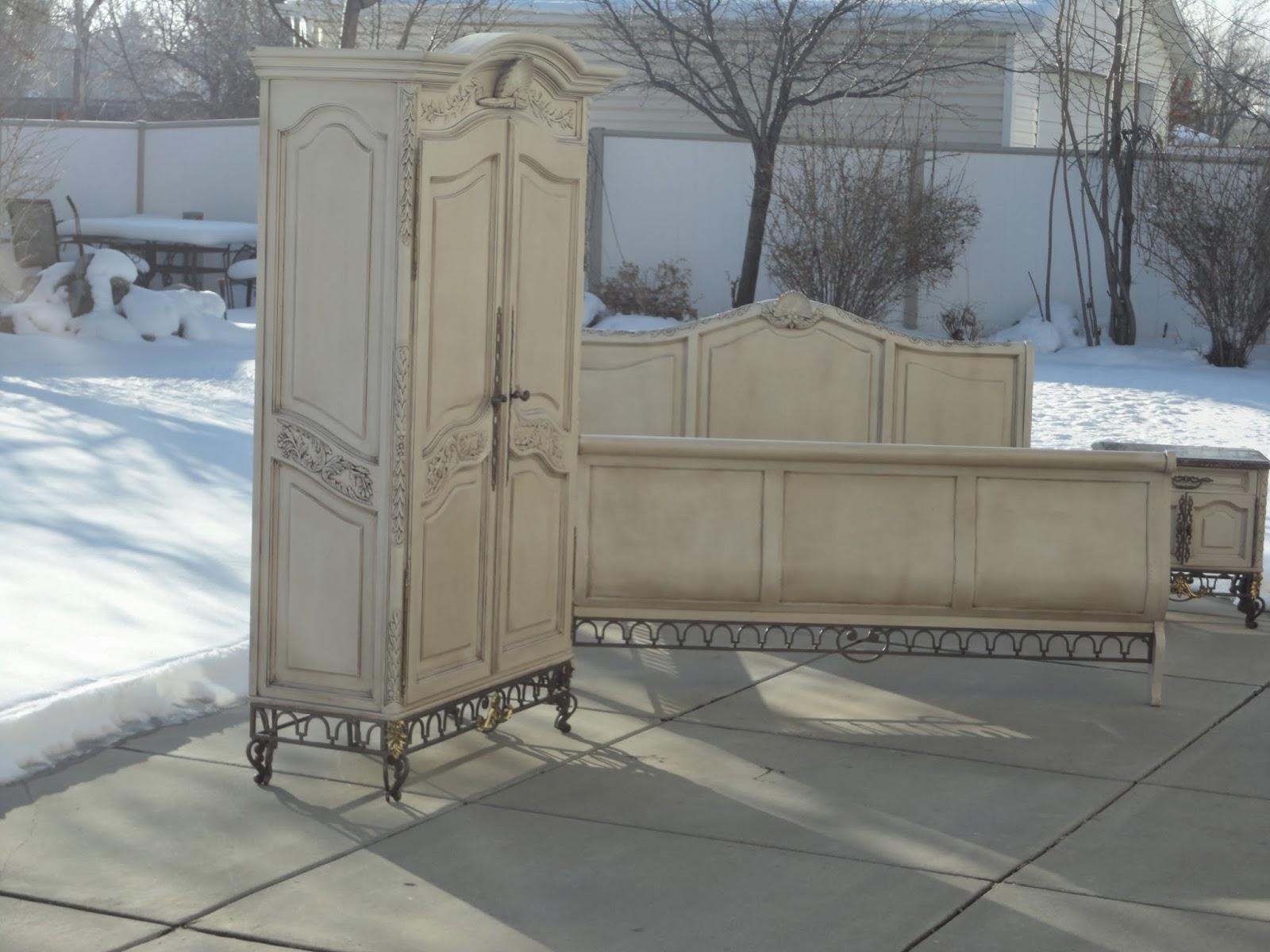french garden treasures custom bedroom set thanks rochelle. Black Bedroom Furniture Sets. Home Design Ideas