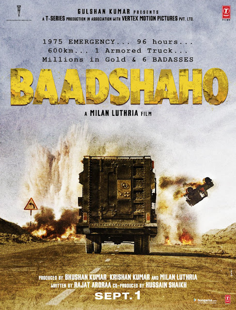 3 Days To Baadshaho Teaser