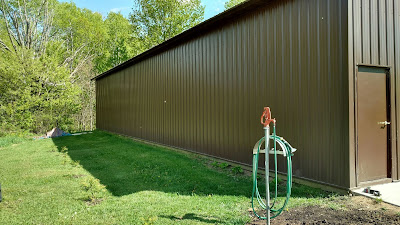 Before Photo of the Pole Shed | Banners.com
