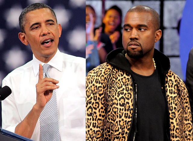 Kanye West Sends Yeezy Sneakers To Obama