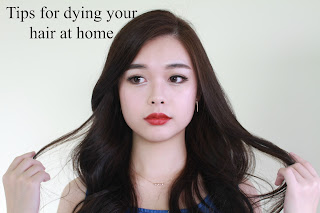 tipa for dying your hair at home