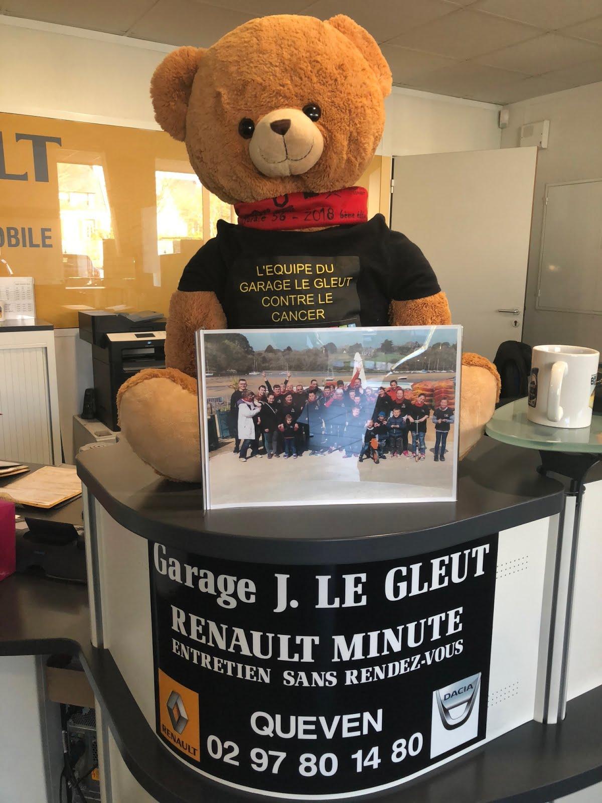 Trouvez un nom notre mascotte for Garage renault queven