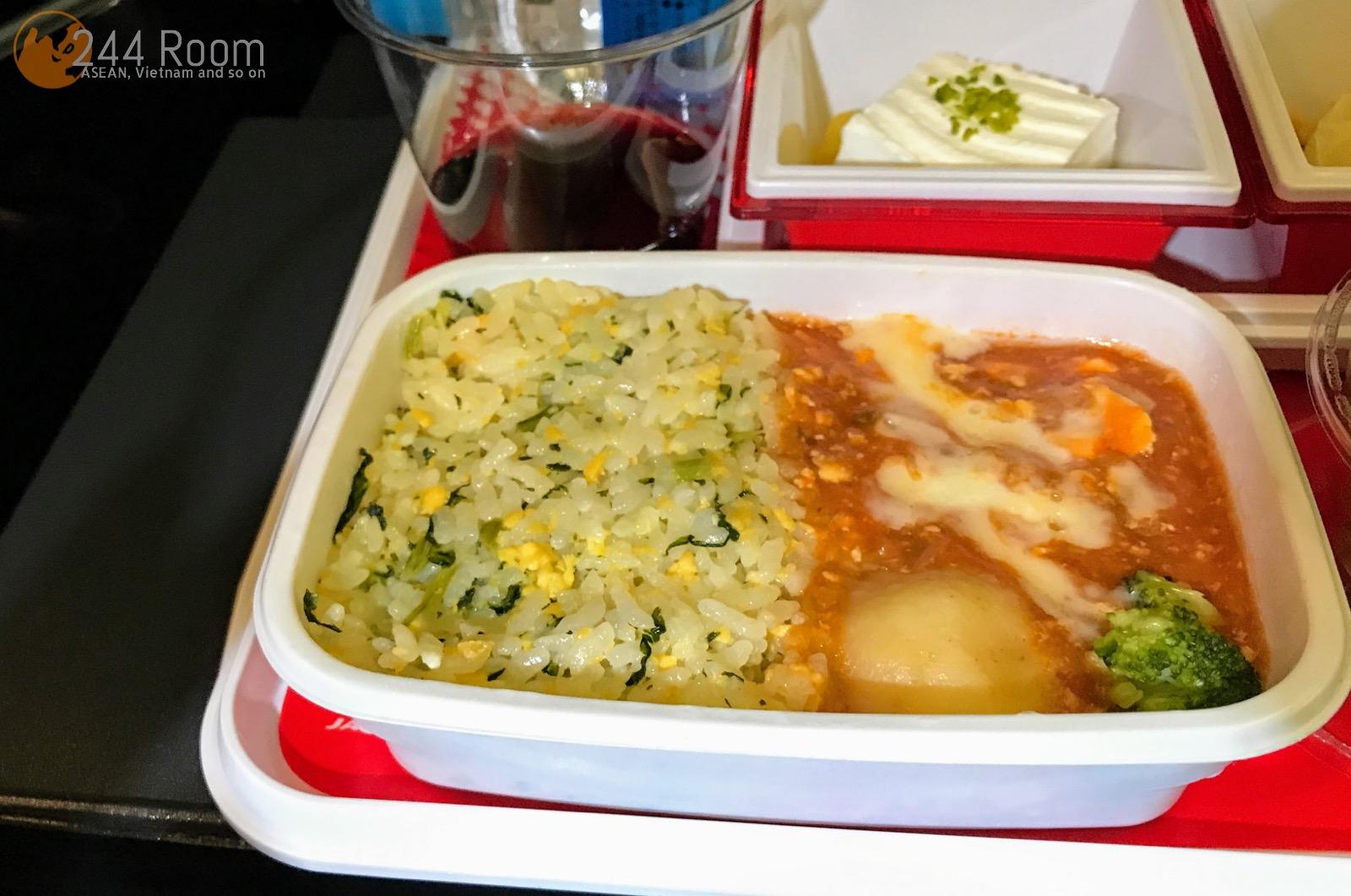 JALエコノミークラス機内食 JAL Economyclass-flightmeal2
