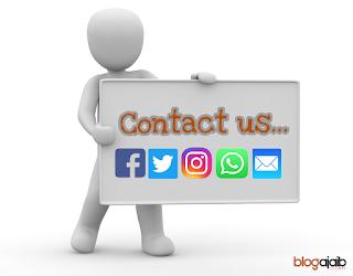 cara membuat contact form di blogger