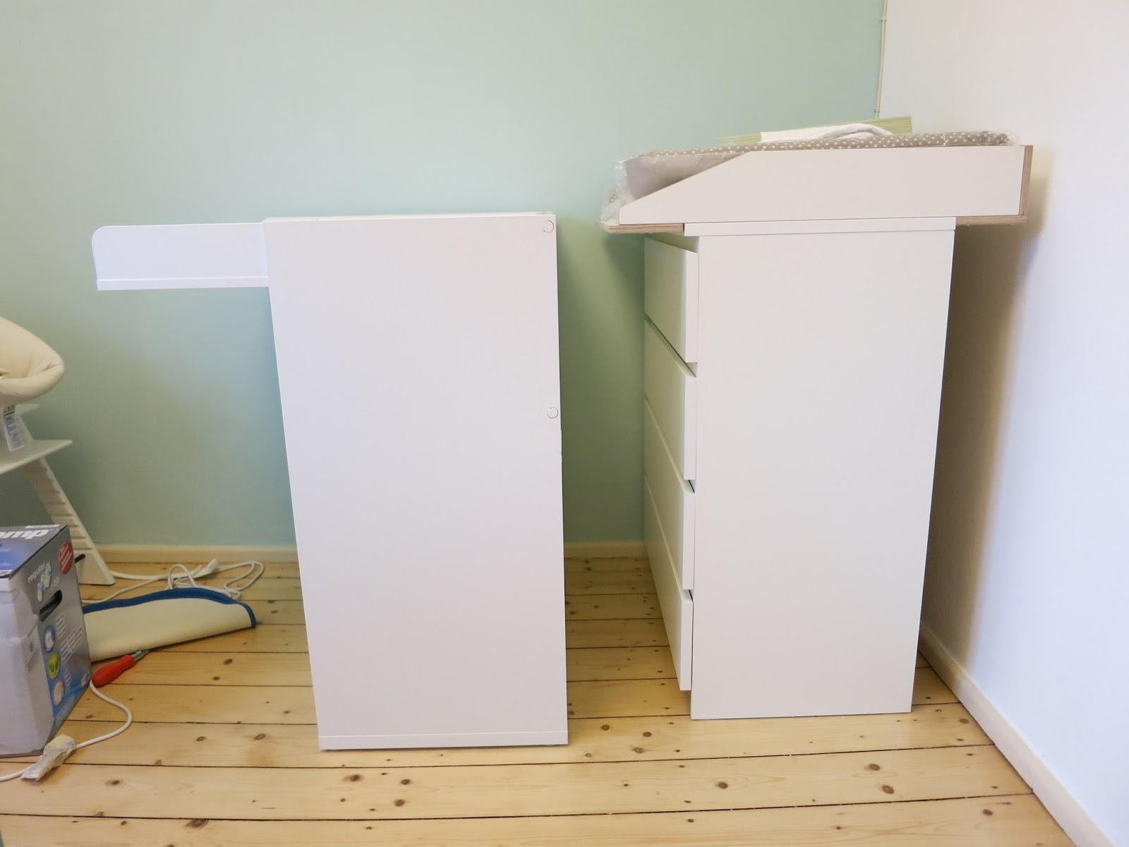 ikea malm wickelkommode statt extra wickeltisch wickelaufs tze f r ikea kommoden kagu. Black Bedroom Furniture Sets. Home Design Ideas