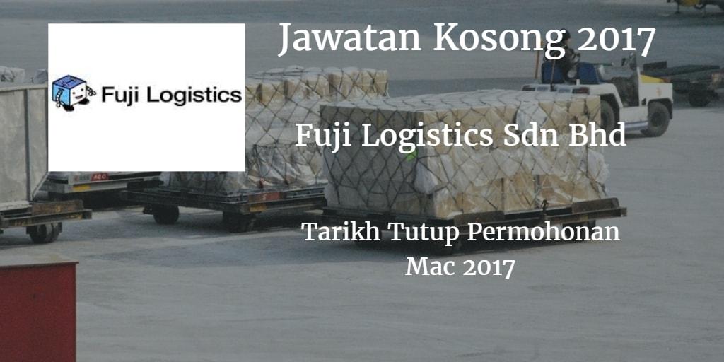 Jawatan Kosong Fuji Logistics SDN BHD Mac 2017