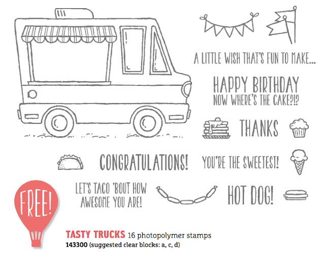 Stampin' Up! Sale-A-Bration Tasty Truck