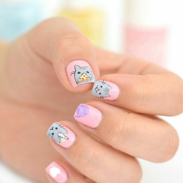 Kitty Nail arts