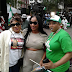 Na wa o! See what Veteran actress Clarion Chukwurah wore to Nigeria's Independence day parade in New York...photo