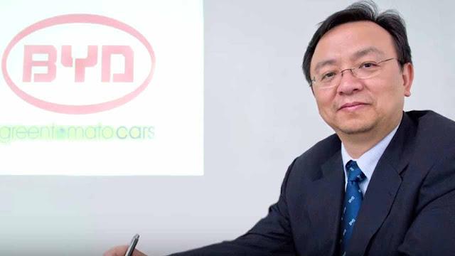 Wang Chuanfu king of electric cars in China