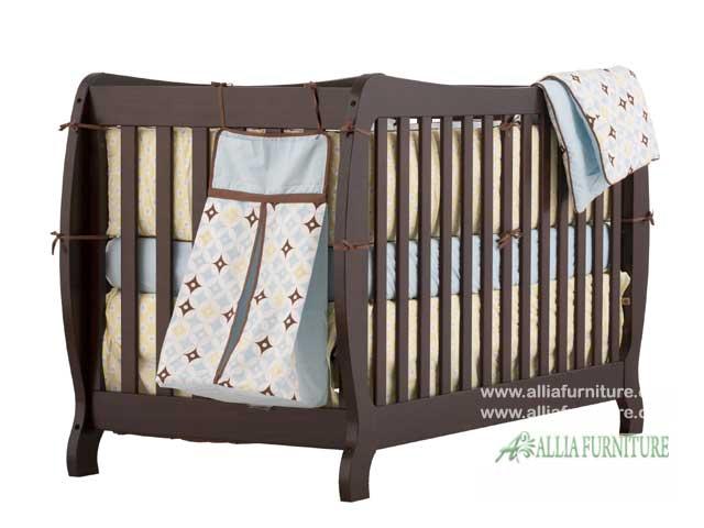 tempat tidur balita kayu jati osaka