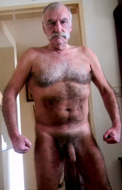You head Hairy nude older men something