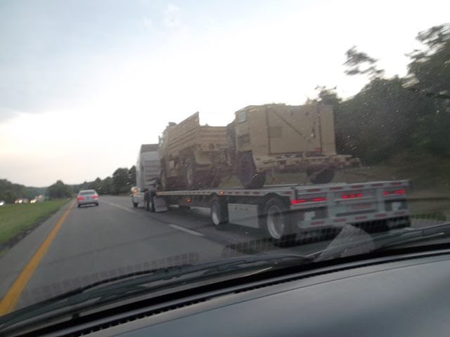Homeland Security and Military Vehicles,  Interstate 75
