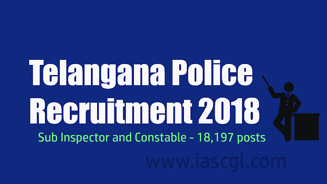 Telangana Police Recruitment 2018
