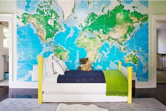 Tapetti Kartta Maailmankartalle