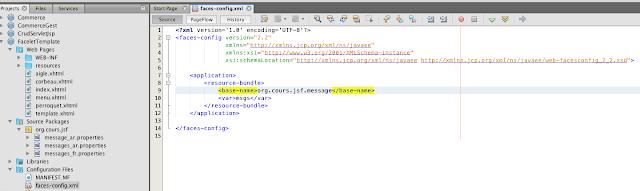 Création Fichier de Configuration, step 2