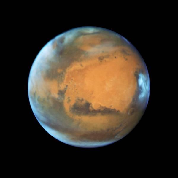 Última mirada cercana al planeta rojo por el telescopio Hubble.