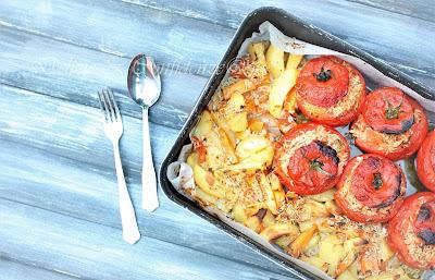 Pomodori al riso con patate