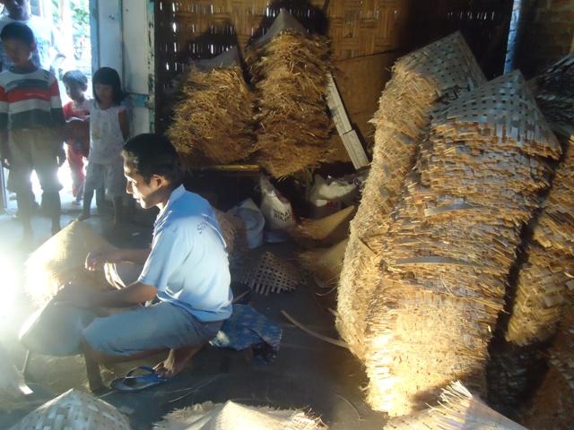 sentra kerajinan bambu magetan