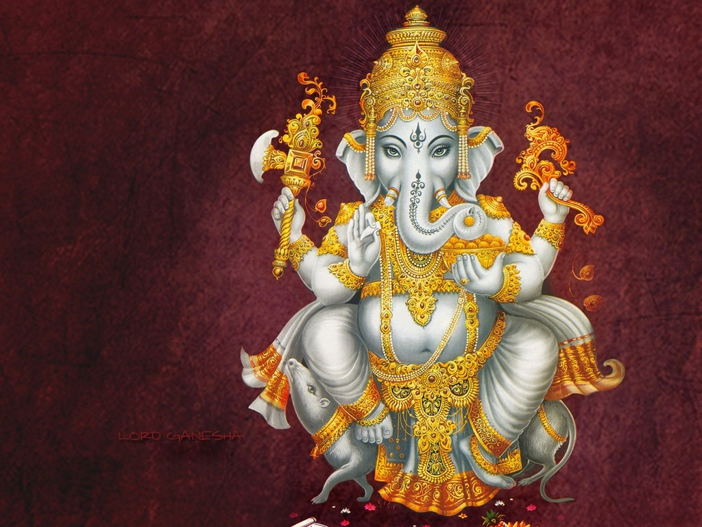 Ganesha: Divine Thought :: Temples, Mantras