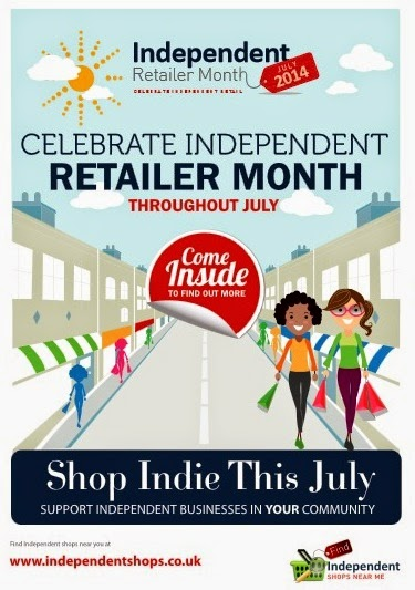 Independent Retailer Month poster