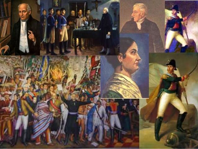 Etapas De La Independencia De México: Primera, Segunda