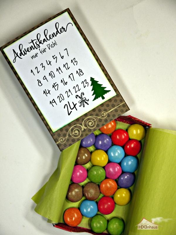 Kleiner Weihnachtskalender.Steffies Hexenhaus Kleiner Adventskalender