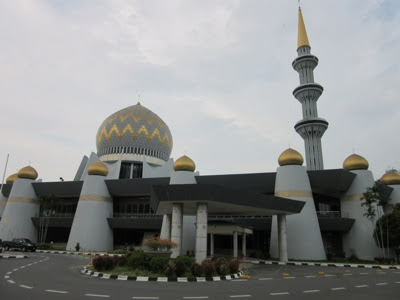 Mezquita de Kota Kinabalu, Sabah, Borneo, Malasia
