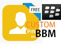 Cara Membuat Custom PIN di Aplikasi BBM Dengan Mudah