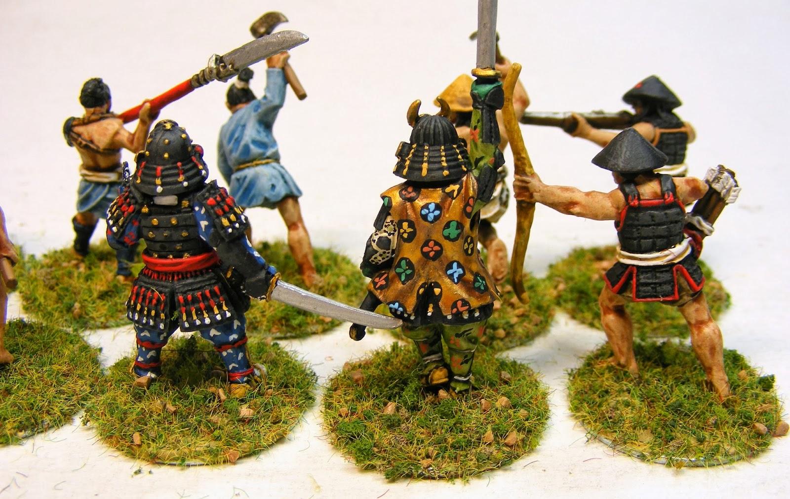 Evil Bob's Miniature Painting: 28mm Samurai for Ronin