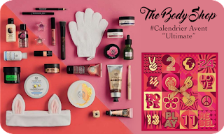 Calendrier Avent Beauté - the body shop