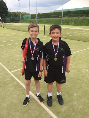 Webber Independent School Milton Keynes Win MKSSA Tennis Tournament