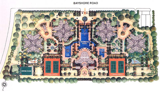 The Bayshore Site Plan
