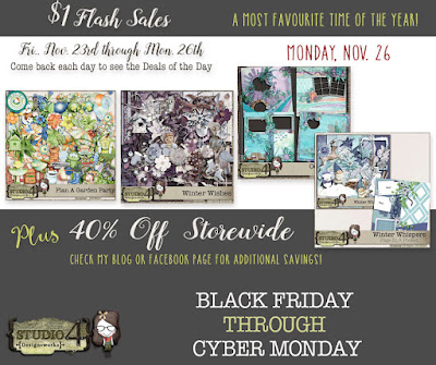 $1 Flash Sales - Cyber Monday!