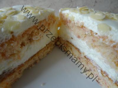 Ciasto kisielowe z serkiem