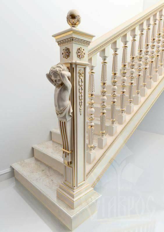 25 Best Handrail Ideas On Pinterest: 25 Handmade Wood Stair Railing Designs Ideas