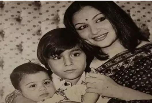saif ali khan childhood pic