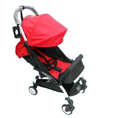 Tidak Sukar Lagi Dengan Adanya Stroller Baby Aldo Compatto, stroller baby, the baby store