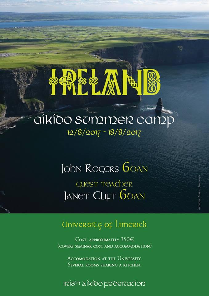 Η Janet Clift Σενσέι στην Ιρλανδία