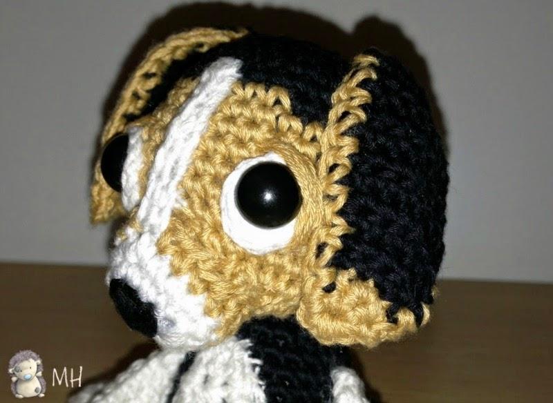 Cachorrito beagle amigurumi
